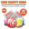 Coro Charity Bingo Night