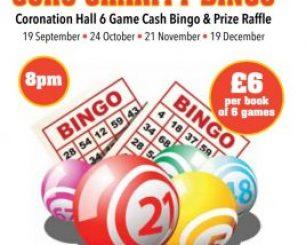 Coro Charity Bingo Night