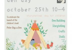 Build A Den Day! Activities and Storytelling for Children
