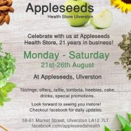 Appleseeds Health Store, 21 Years in Business!