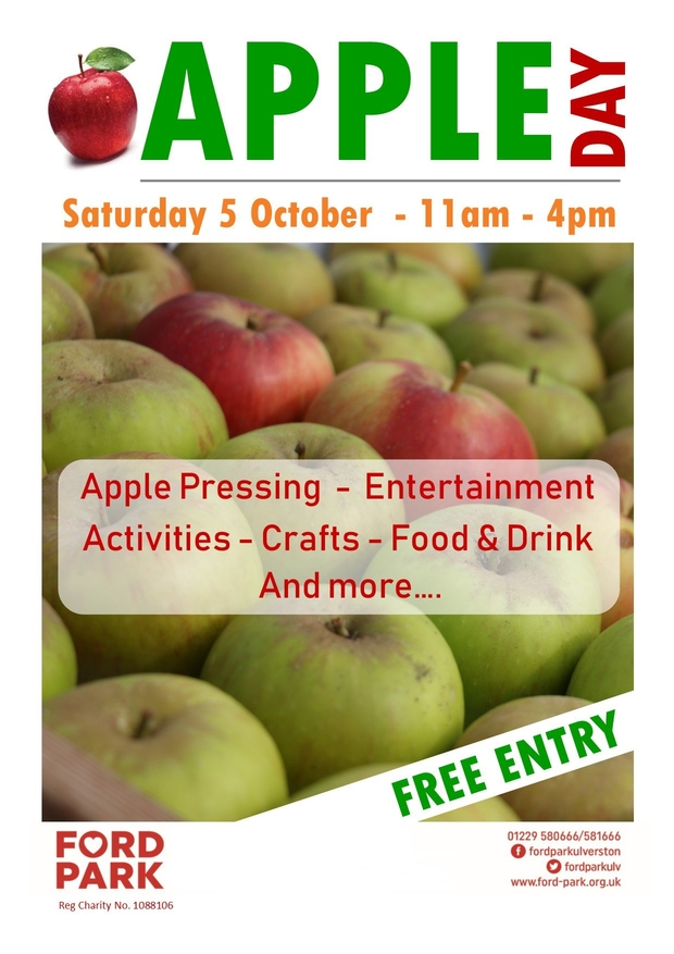 Apple Day at Ford Park - Choose Ulverston