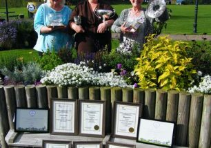 Ulverston Wins a Bunch of Awards for Cumbria in Bloom 2017
