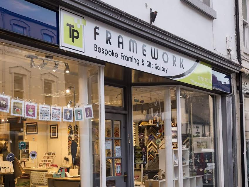 In the Picture: New Frame Shop Opens in Ulverston - Choose Ulverston