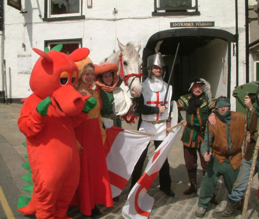 St Georges Day Pageant - Choose Ulverston