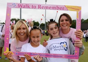 St Mary's Hospice Walk to Remember 2018