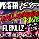 Monster Monster & HomeGrown's Halloween Rave with A-Skillz