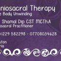 Lynn Shamal – Craniosacral therapy