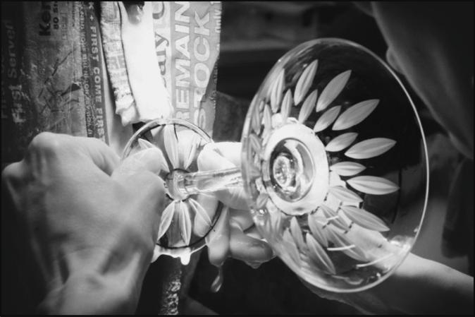 Diamond Wheel Glass Cutting Workshops with Heather Gillespie - Choose Ulverston