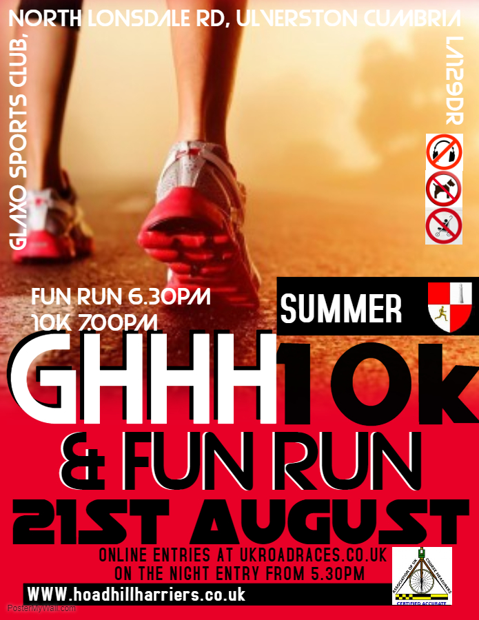Summer 10k - Choose Ulverston
