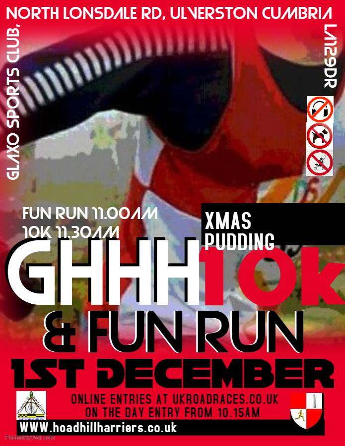 Xmas Pudding Fun Run - Choose Ulverston