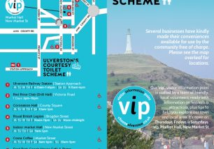 Ulverston's Open: Visitor Information Point and Courtesy Toilet Scheme