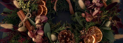 BLUEBELL & IVY and ESPA – DIY Christmas wreath making kits