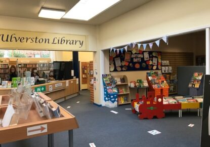 Ulverston Library to open on the 22th of October