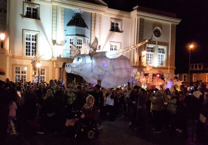 "Ulverston featured on ""10 of the best light festivals worldwide"" on The Guardian"